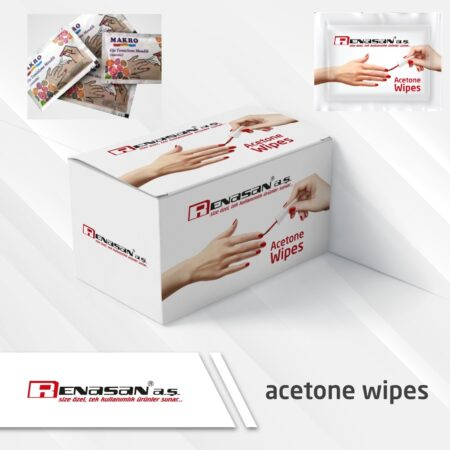 Acetone Wipes-Nail Polish Remover Wipes