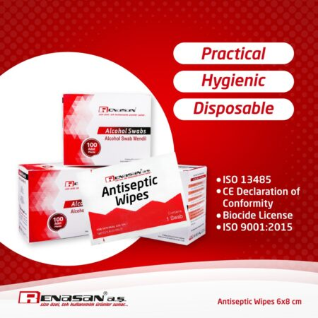 Antiseptic Wipes in Boxes