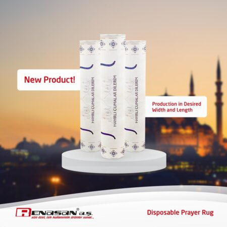 Disposable Prayer Rug Cover Sheet